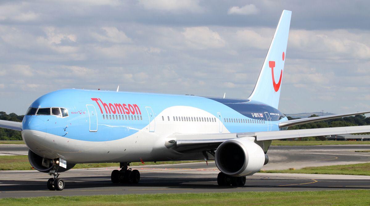 Avión británico esquivó por poco un misil en Egipto Thomson